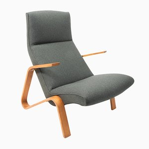 Poltrona Grasshopper di Eero Saarinen per Knoll Inc. / Knoll International, anni '50