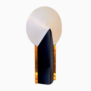 Large White Moon Table Lamp by Samuel Parker for Slamp, 1970s