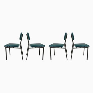 Mid-Century Dining Chairs by Martin Visser for t Spectrum, Set of 4