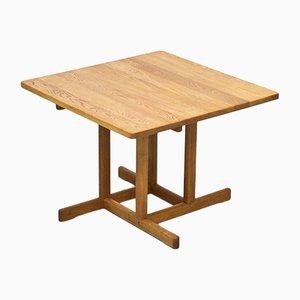 Tavolo da pranzo in legno di quercia massiccio di Børge Mogensen per Fredericia, anni '60