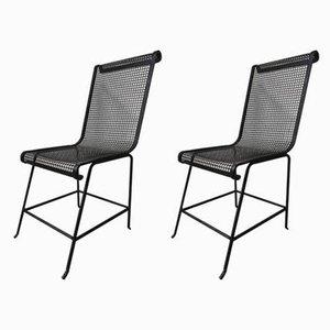 Französische Gartenstühle, 1960er, 2er Set