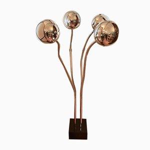 Hydra Stehlampe von Pierre Folie für Jacques Charpentier, 1970er