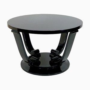 Tavolino Art Déco nero, Francia, anni '30