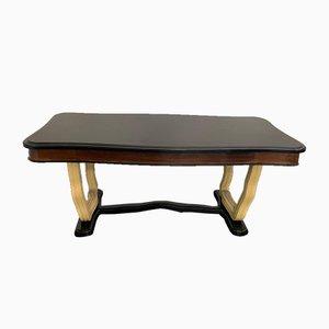 Tavolo da pranzo Art Déco di Osvaldo Borsani, anni '40