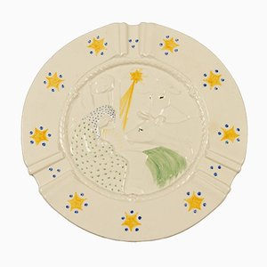 Antique Danish Decorative Plate from Royal Copenhagen, 1904