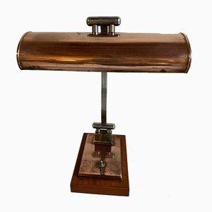 Französische Mid-Century Notar Tischlampe