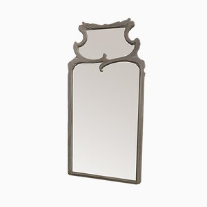 Large Mid-Century Beveled Mirror