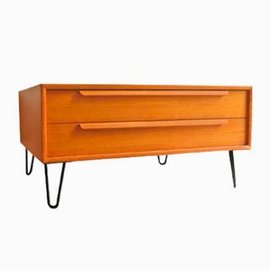 Low Teak Sideboard, 1960s