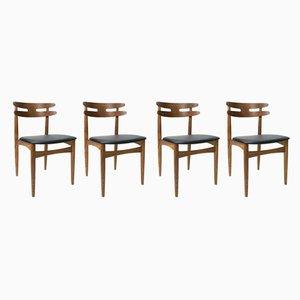 Modell 178 Esszimmerstühle von Johannes Andersen für Bramin, 1960er, 4er Set