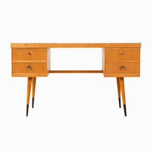 Vintage Ash Veneer Desk, 1950s