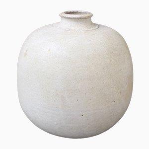 Schweizer Mid-Century Vase aus Steingut von Rheinfelden, 1960er