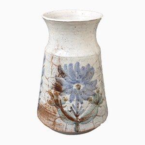 Vase Mid-Century en Céramique par Gustave Reynaud, années 50