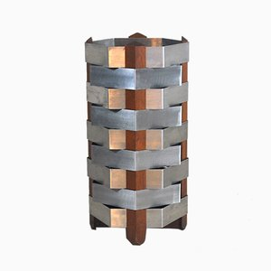 Teak and Steel Umbrella Stand by Ico & Luisa Parisi, 1960s