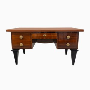 Vintage French Rosewood Desk, 1940s