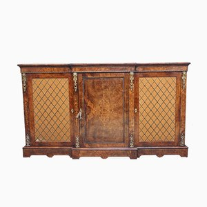 Antique Burr Walnut Cabinet
