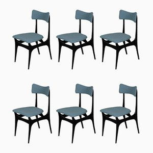 Mid-Century Dining Chairs by Alfred Hendrickx for Belform, 1958, Set of 6