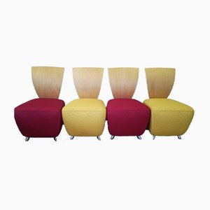 Bobo Easy Chairs by Dietmar Sharping, Set of 4