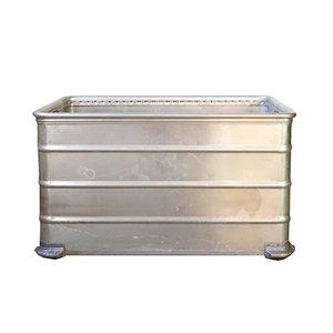 Baúl de aluminio de Gmöhling, años 60