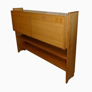Mid-Century Elm Wall Unit