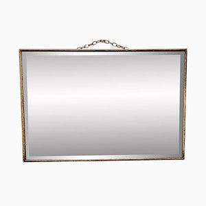 Vintage Wooden and Bevelled Glass D243 Mirror