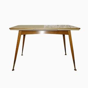 Table Basse à Rallonge Mid-Century