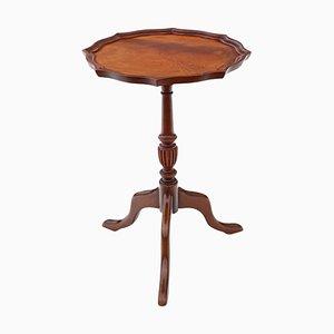Antiker Weintisch aus Mahagoni, 1920er