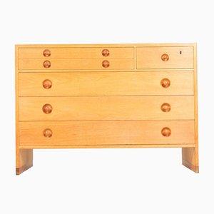 Mid-Century Oak Dressers by Hans J. Wegner for Ry furniture, 1950s, Set of 2