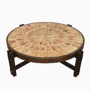 Table Basse en Céramique par Roger Capron, années 70