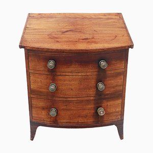 Antike viktorianische Kohlenbox aus Mahagoni