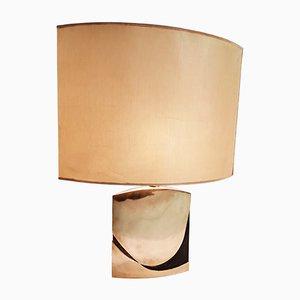Lampada da tavolo in bronzo di Esa Fedrigolli, anni '70