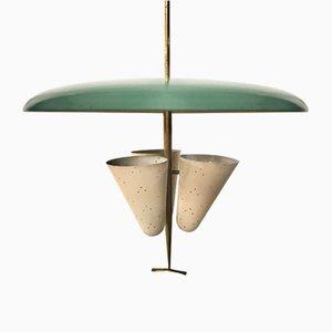Deckenlampe von Stilnovo, 1950er