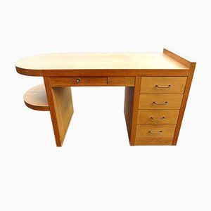 Mid-Century Oak Desk, 1950s