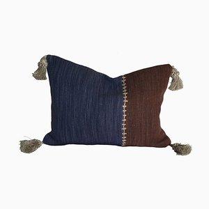 Cuscino a righe in tessuto jacquard di Sohil Design
