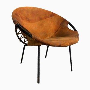 Fauteuil par Lusch Erzeugnis pour Lusch & Co, années 60
