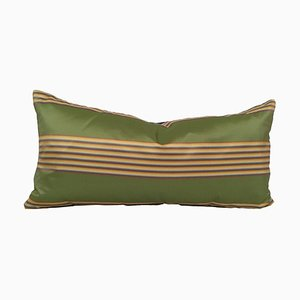 Thai Silk Stripe Lumbar Pillow from Sohil Design