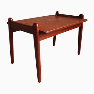 Scandinavian Teak Coffee Table by Fredrik A. Kayser for Vatne Møbler, 1950s