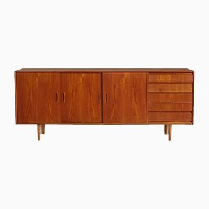 Danish Teak Angular Sideboard, 1960s