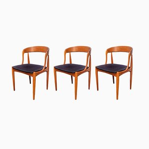 Chaise de Salle à Manger en Teck par Johannes Andersen pour Uldum Møbelfabrik, Danemark, 1960s
