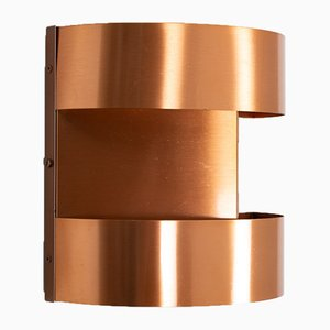 Mid-Century Swedish Copper Sconce, 1960s