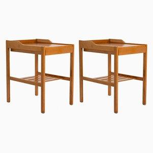 Tables de Chevet Mid-Century Scandinave par Bertil Fridhagen pour Bodafors, années 60, Set de 2