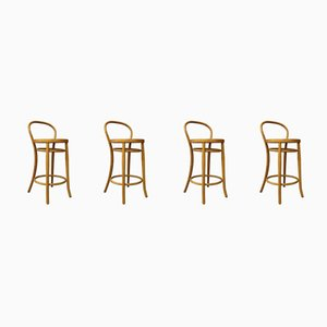 Vintage Vienna Straw Stools from S&L, 1980s, Set of 4