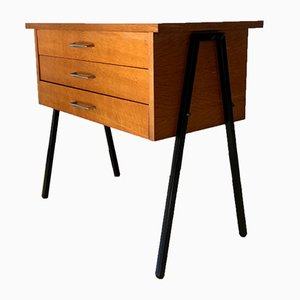 Oak Nightstand, 1950s