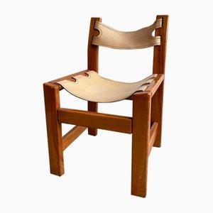 Beistellstuhl von Pierre Chapo, 1960er