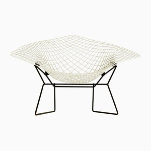 Large Diamond Lounge Chair by Harry Bertoia for Knoll Inc./Knoll International, 1960s