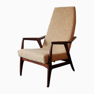 Vintage Teak Lounge Chair, 1960s