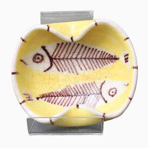 Italienische Vide-Poche aus Keramik von Guido Gambone, 1950er