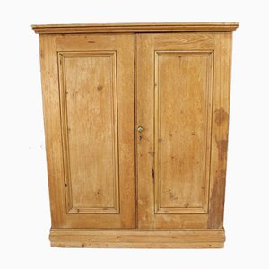 Antique Pine Double Cupboard