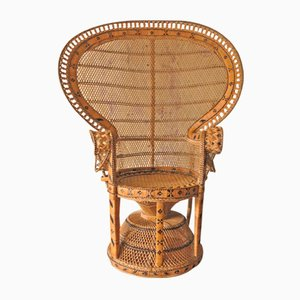 Rattan Lounge Chair, 1970s