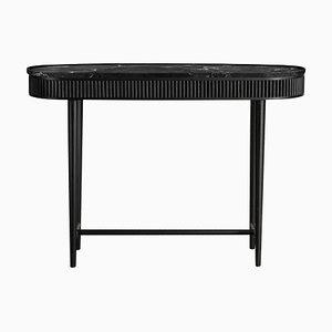Table Console Mausam Jet Noire par Kam Ce Kam
