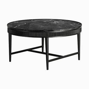Jet Black Mausam Coffee Table by Kam Ce Kam